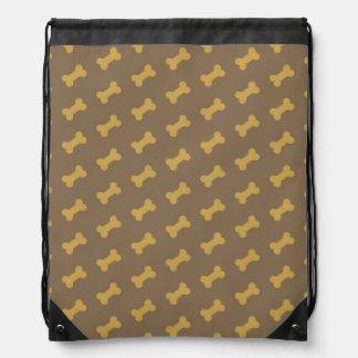 bone for dog texture backpacks