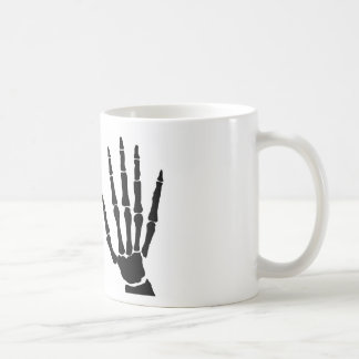 Bone Hands Isolated Coffee Mug