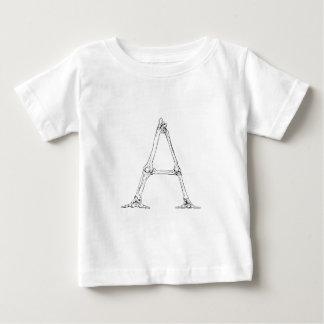 Bone Letter - A Baby T-Shirt
