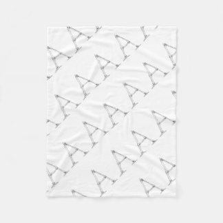 Bone Letter - A Fleece Blanket