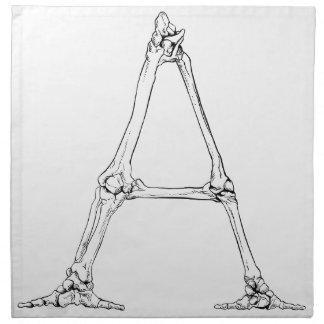 Bone Letter - A Napkin