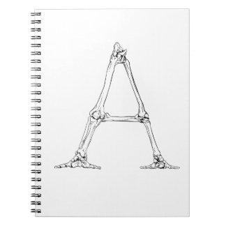 Bone Letter - A Notebooks
