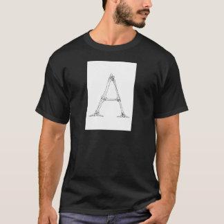Bone Letter - A T-Shirt