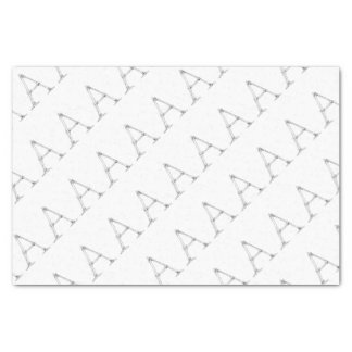 Bone Letter - A Tissue Paper