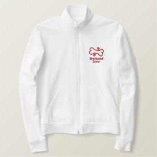 Bone-n-Paws Greyhound Lover Embroidered Jackets