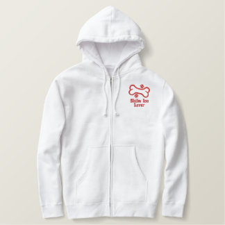 Bone-n-Paws Shiba Inu Lover Embroidered Hoodie