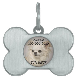 Bone Pet Tag Chihuahua With Photo
