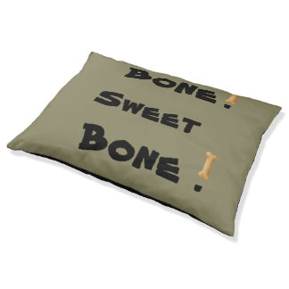 Bone Sweet Bone Large Dog Bed