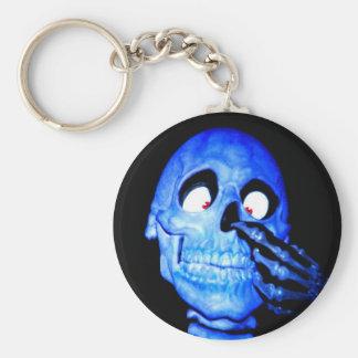 Bone To Pick Basic Round Button Keychain