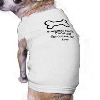 Bone - Tobes Inspired Pet T-shirt