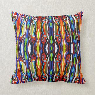 Bonefish Kaos Glass Throw Pillow