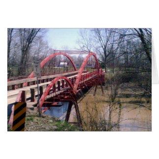 Boner Bridge, Warrick County, Indiana Card