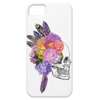 Bones and Blossoms iPhone 5 Case