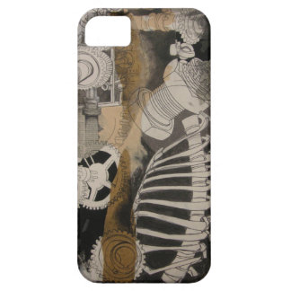 Bones and Gears, Abstract iPhone cover. Case For The iPhone 5