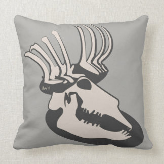 Bones by Aleta Throw Pillow