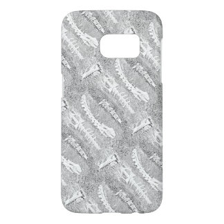 Bones Colouring Project DIY Adult Colouring Samsung Galaxy S7 Case
