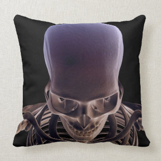 Bones of the Head and Face 3 Throw Pillow