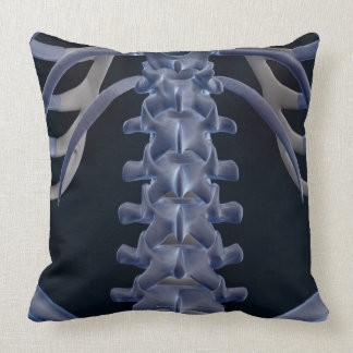 Bones of the Lower Back 2 Throw Pillows