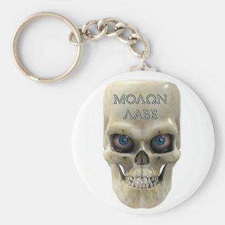 Boney Molon Labe Basic Round Button Keychain