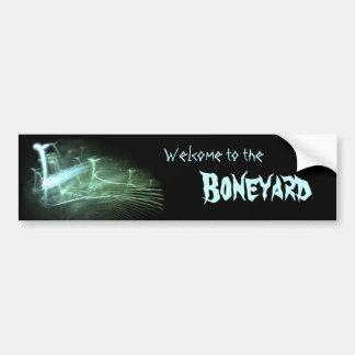 'Boneyard' Bumbersticker Bumper Sticker