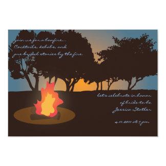 Bonfire Invitation
