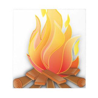 Bonfire Notepad