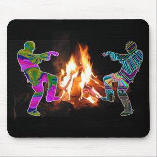 BonFire Party  Bon Bonne Fire Mouse Pad