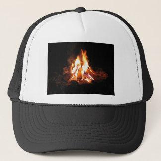 BonFire Party  Bon Bonne Fire Trucker Hat