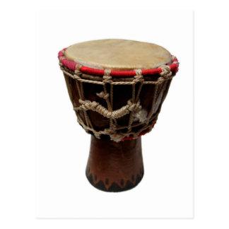 Bongo Drum Postcard