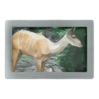 Bongo from Safari Belt Buckles