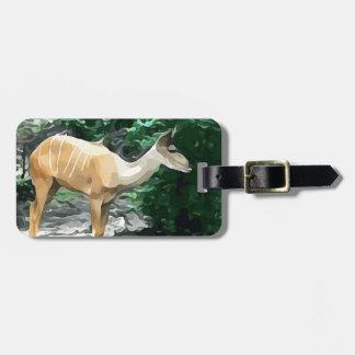 Bongo from Safari Luggage Tag