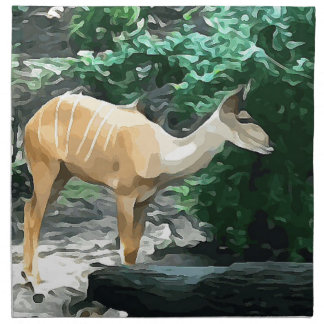 Bongo from Safari Napkin