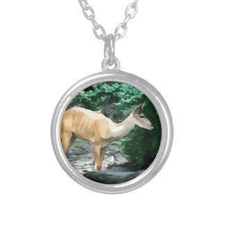 Bongo from Safari Silver Plated Necklace