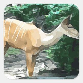 Bongo from Safari Square Sticker