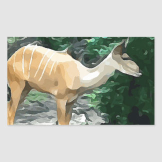 Bongo from Safari Sticker