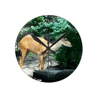 Bongo from Safari Wall Clocks