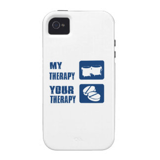 BONGO is my therapy iPhone 4 Cover