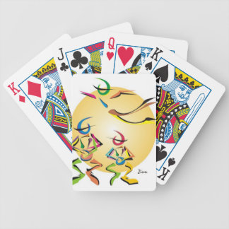 Bongos Bicycle Playing Cards