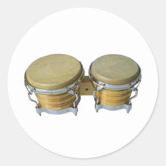 Bongo's Classic Round Sticker