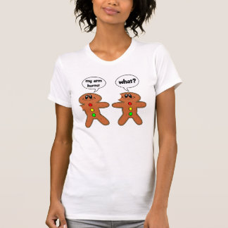 bonhomme en pain d épice t-shirt