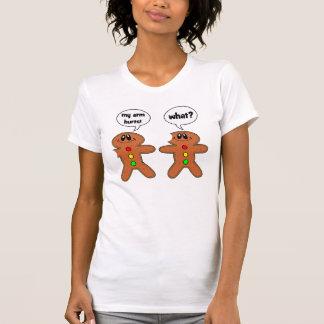 bonhomme en pain d'épice t shirt
