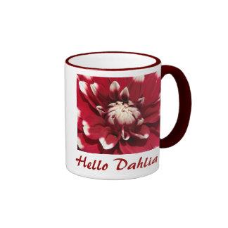 Bonjour dahlia mugs à café