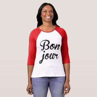 Bonjour Good Morning T-Shirt