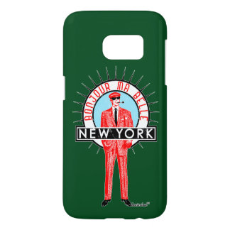 Bonjour mA barks New York by FRA Cisco Evans ™ Samsung Galaxy S7 Case