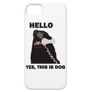 BONJOUR OUI C'EST CHIEN COQUE iPhone 5 Case-Mate