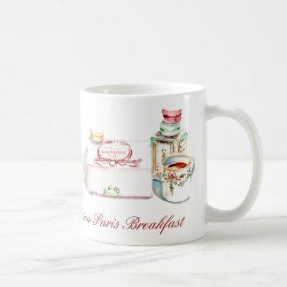Bonjour Paris breakfast Mug