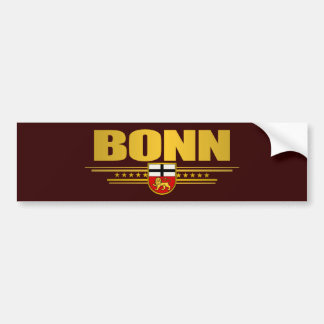 Bonn 2 bumper sticker