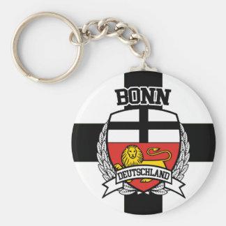 Bonn Basic Round Button Keychain
