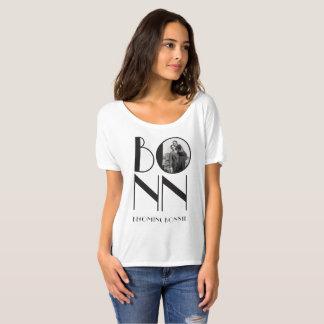 BONN from Becoming Bonnie in White (Boyfriend Tee) T-Shirt