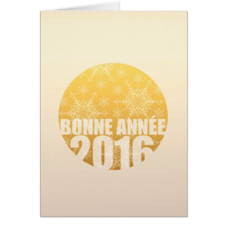 Bonne Année 2016 - French New Year Card